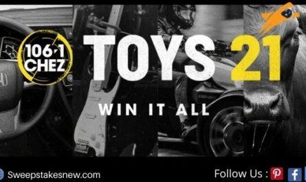 CHEZ 106 Toys 21 Contest