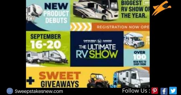 Camping World Ultimate RV Show Sweepstakes