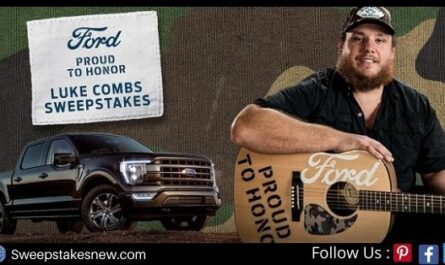 Ford Proud To Honor Sweepstakes