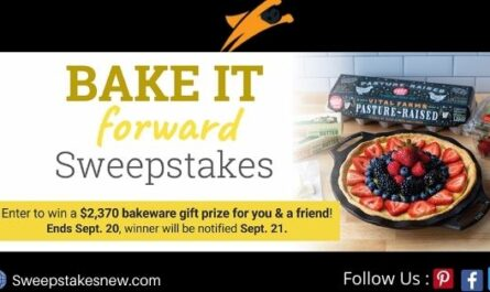 Lodge Bake it Forward Sweepstakes