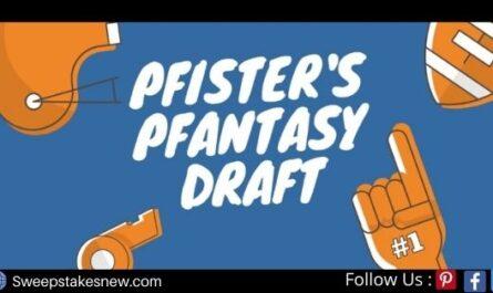Pfisters Pfantasy Pfaucet Draft Contest