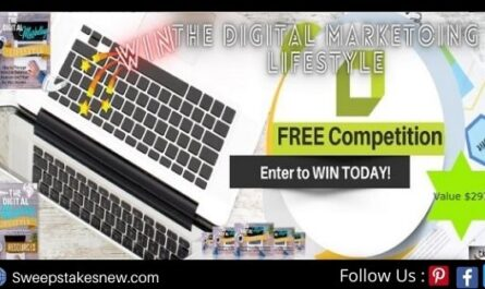 Win a Free Copy of Digital Marketing Lifestyle Contest