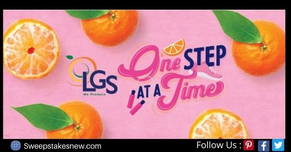 Lgs Darling Citrus One Step At A Time Sweepstakes