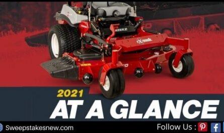 Exmark Zero-Turn Lawn Mower Sweepstakes