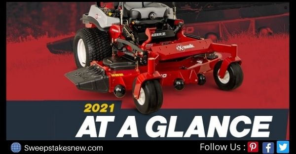 Exmark Zero-Turn Lawn Mower Sweepstakes