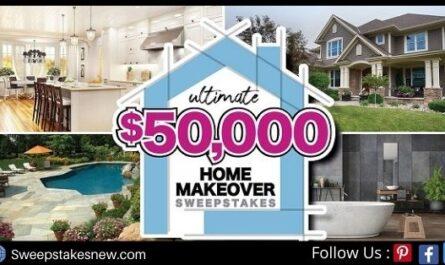 Gannett Media Ultimate Home Makeover Sweepstakes