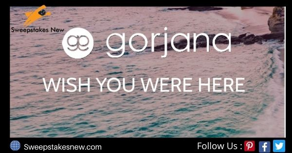 Gorjana Wish You Were Here Giveaway
