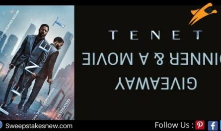 Cinema Blend Tenet Giveaway