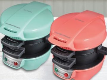 Hamilton Beach Breakfast Sandwich Maker Giveaway