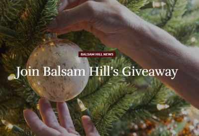 Balsam Hill's Ready Get Set Holiday Giveaway