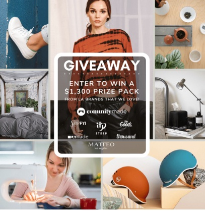COMUNITYmade Fall Giveaway