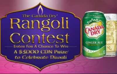 Canada Dry Rangoli Contest 2020