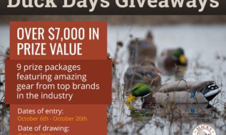 Macks Prairie Wings Duck Days Giveaway