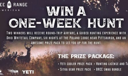 Free Range American Media Company WHITETAIL HUNT GIVEAWAY