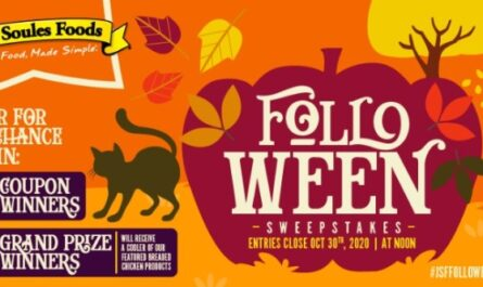 John Soules Foods The Folloween Sweepstakes
