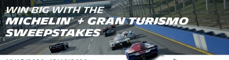 Michelin And Gran Turismo Sweepstakes