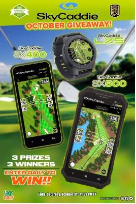 Rock Bottom Golf SkyCaddie October Giveaway