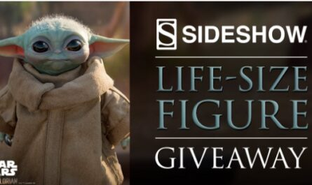 Sideshow New York Con Baby Yoda Giveaway