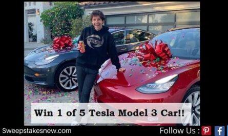 David Dobrik Tesla Giveaway