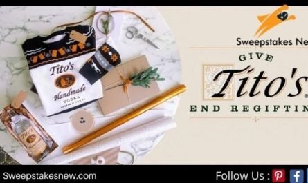 Tito's Holiday Sweepstakes
