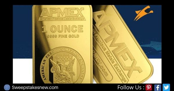 APMEX Thank You For 20 Years Gold Bar Giveaway