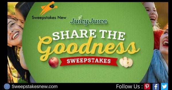 Juicy Juice Share the Goodness Sweepstakes