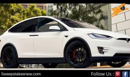Omaze Tesla Model X Sweepstakes