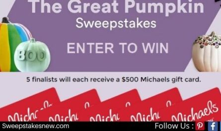 Michaels Great Pumpkin Sweepstakes