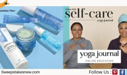 Yoga Journal DERMA E Live Be Yoga Sweepstakes