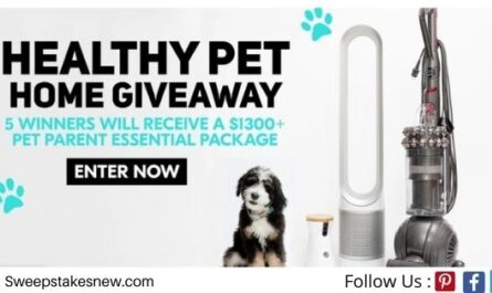 C4 Belts C4 Healthy Pet Home Giveaway