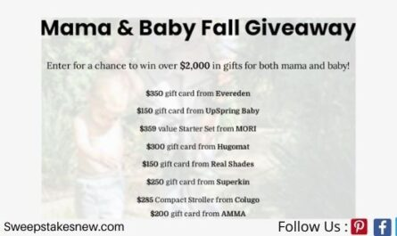 Eden Brands Mama And Baby Fall Giveaway