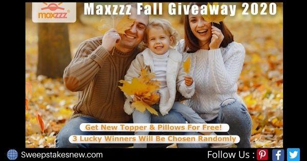 Maxzzz Pillow Mattress Giveaway