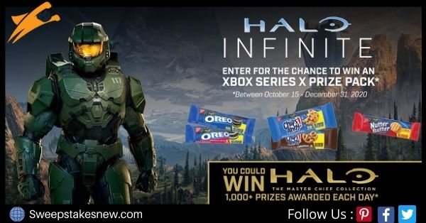 Nabisco Halo Infinite Sweepstakes