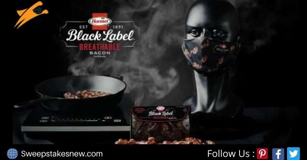 Hormel Breathable Bacon Face Mask Giveaway