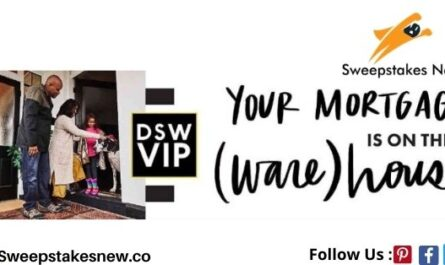 DSW Shoe Warehouse DSW Mortgage Sweepstakes