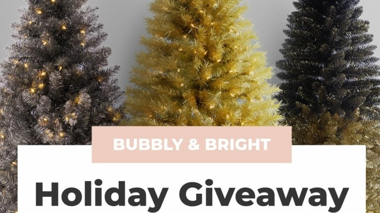 Treetopia Bubbly And Bright Holiday Giveaway
