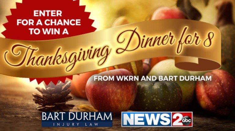WKRN-TV Family Thanksgiving Feast Sweepstakes