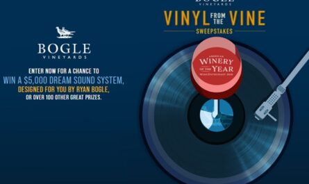 Bogle Vineyards Vinyl from the Wine Sweepstakes