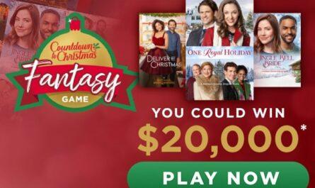 Hallmark Channel Countdown to Christmas Fantasy Game Sweepstakes