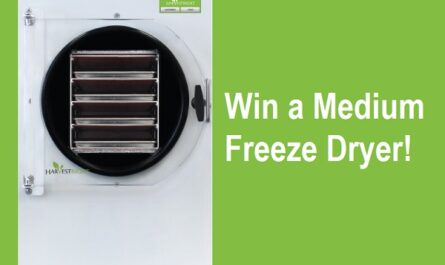 Harvest Right Freeze Dryer Giveaway