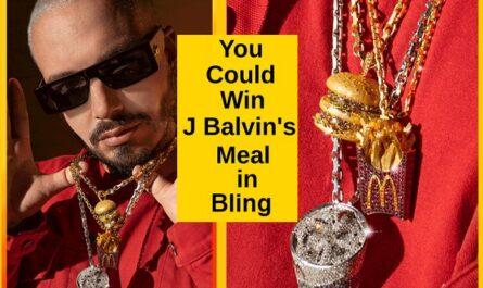 J Balvin x McDonald's Sweepstakes
