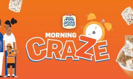 Kellogg's Family Reward Morning Craze Game Sweepstakes
