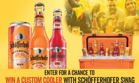 Win A Custom Cooler With Schöfferhofer Swag