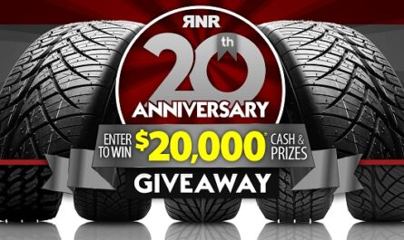 RNR Tire 20th Anniversary Giveaway 2020