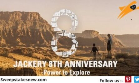 Jackery 8th Anniversary Sweepstakes