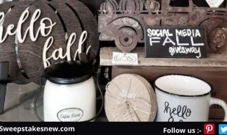 608 The Factory Fall Social Media Giveaway