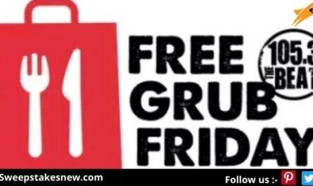 iHeartMedia Free Grub Friday Sweepstakes
