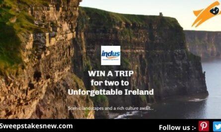 Indus Travels Unforgettable Ireland Sweepstakes