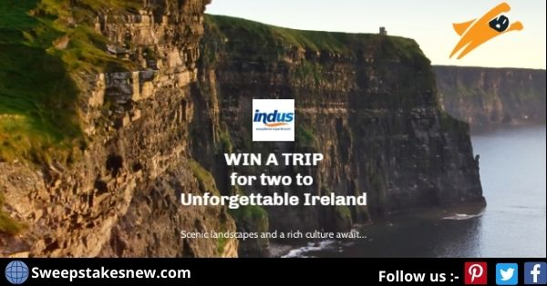 Indus Travels Unforgettable Ireland Sweepstakes