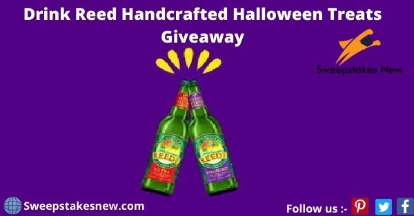 Drink Reed Handcrafted Halloween Treats Giveaway